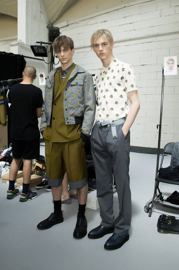 Dominik Sadoch3158_SS15 Paris Kris Van Assche_Nicholas Costa(fashionising.com)