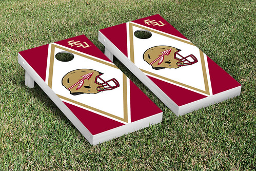Florida State University FSU Seminoles Cornhole Game Set Diamond