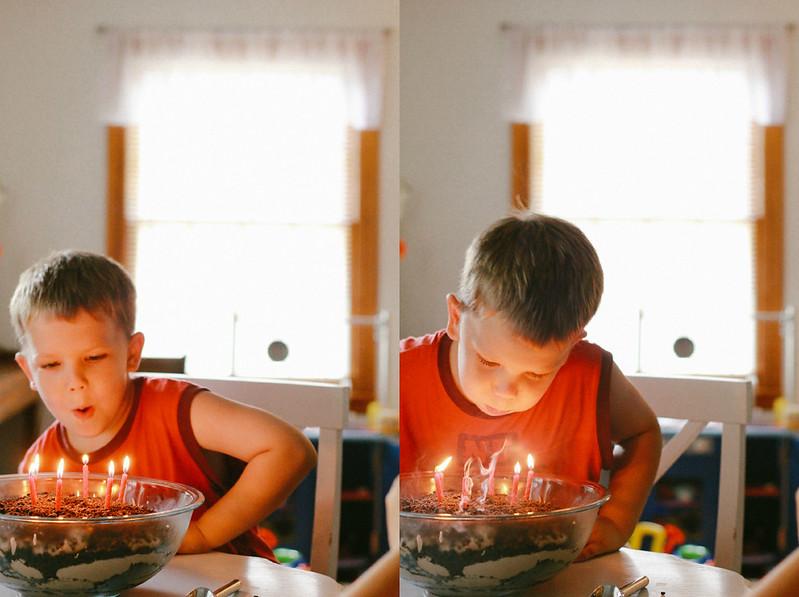 Calvin candles 1