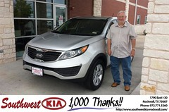 #HappyBirthday to Donald Mccullum from Mauricio Pena at Southwest KIA Rockwall!