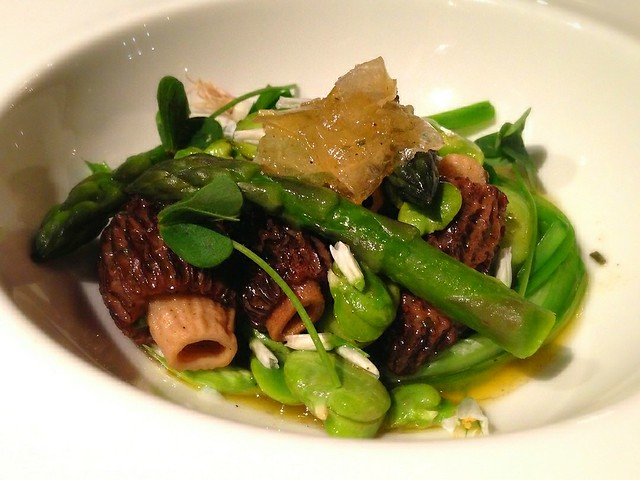 Morels, Egg (hidden), Asparagus at The Daniel O'Connell, Adelaide Australia
