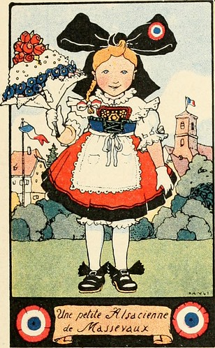 """Image from page 24 of """"Le paradis tricolore : petites villes et villages de l'Alsa"""" (1918)"""