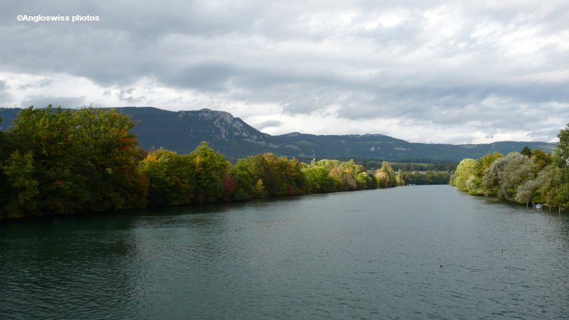 River Aare towards East, Solothurn