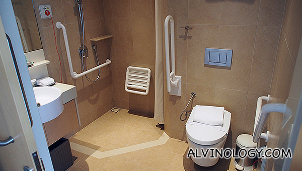 Attached bathroom in each room