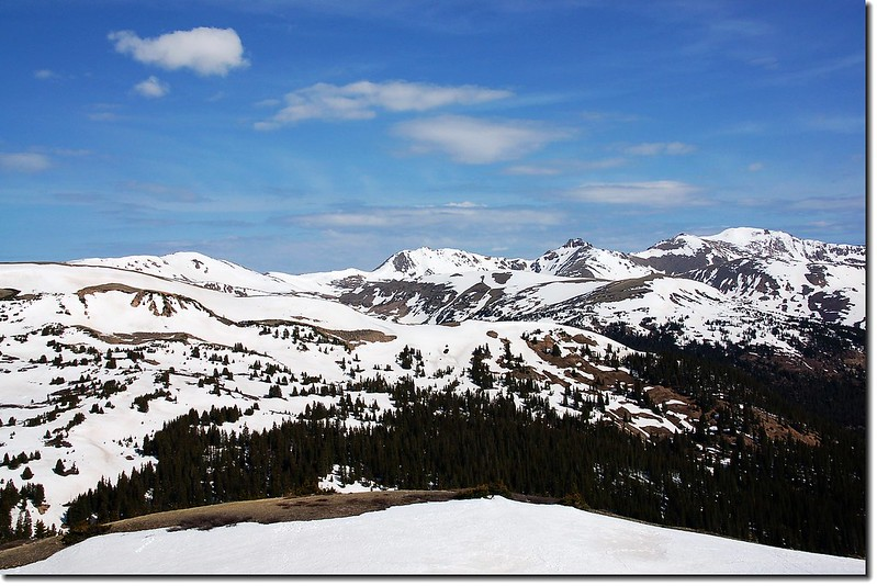 Mountain view from Loveland Pass 4