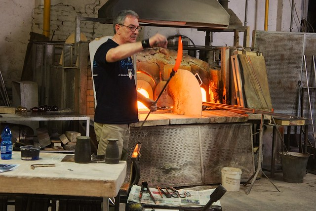 Glass Making on Murano
