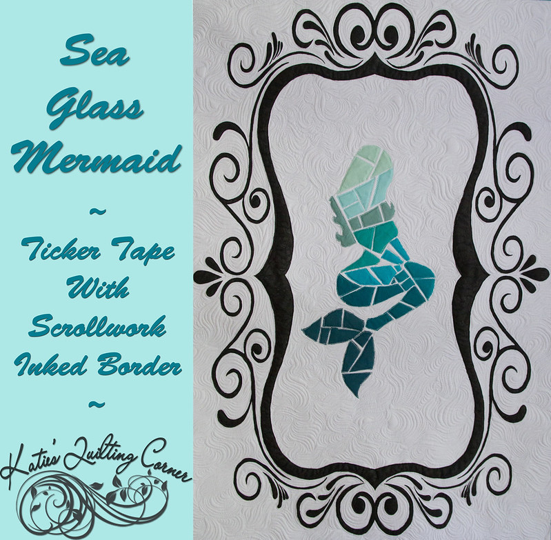 Sea Glass Mermaid Quilt - Free Pattern