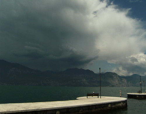 Storm over Tremosine - Tignale