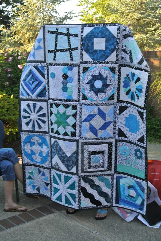 Diana's Craftsy BOM quilt as you go