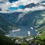 Geirangerfjord from Flydalsjuvet