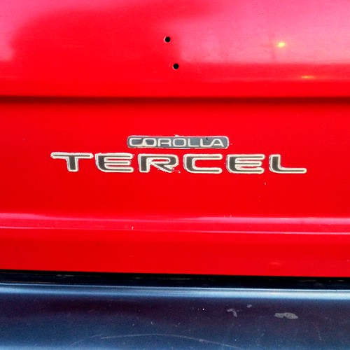 Toyota Corolla Tercel - Santiago, Chile