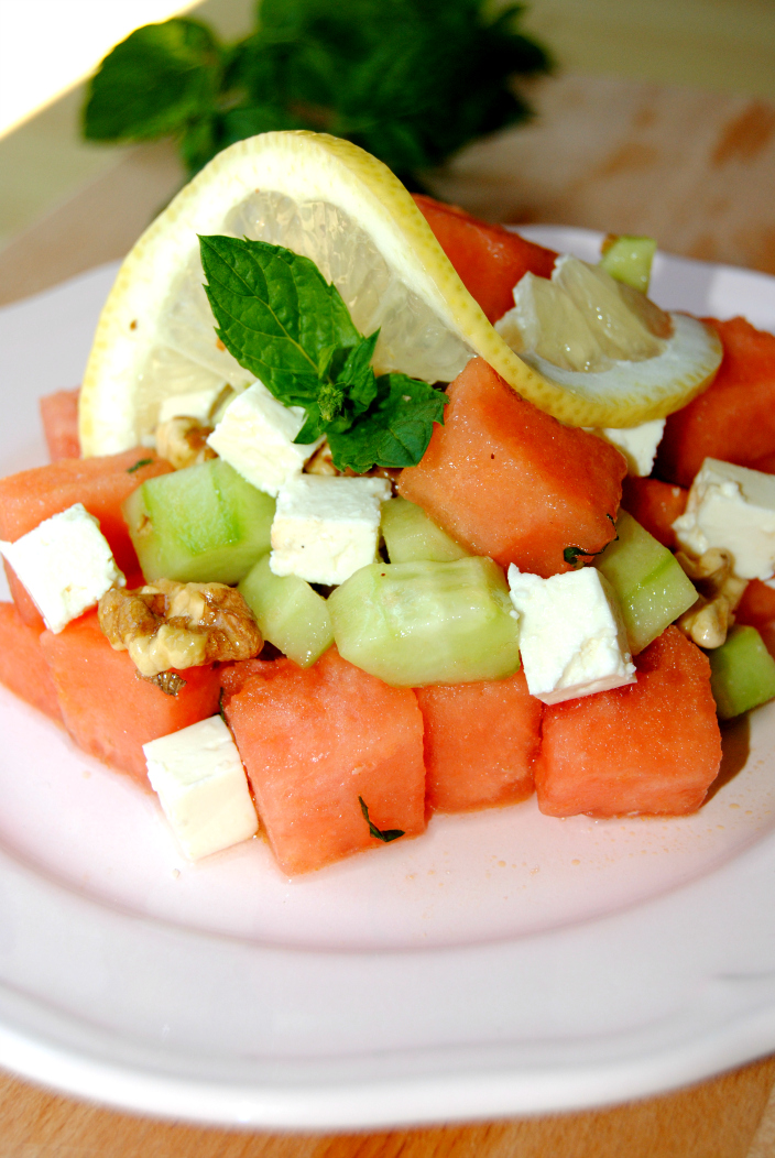 Go Cooking - Watermelon Light Salad (5)