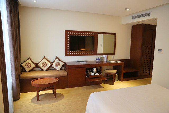 So spacious my corner room is at the Royal Lotus Saigon