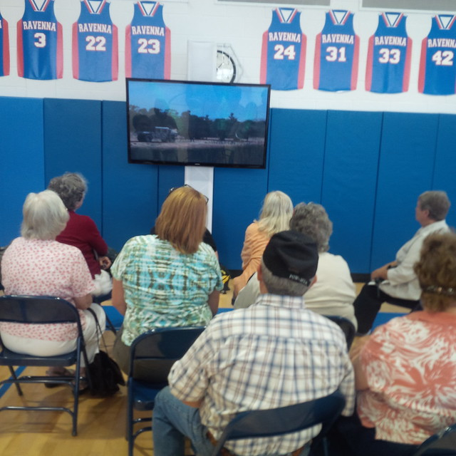 Citizens watching MDA CIS EIS video
