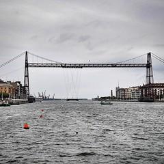 vehicle, transporter bridge, bridge,