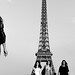 Women returning from Eiffel Tower, Paris 2014 by Photos-Change-The-World