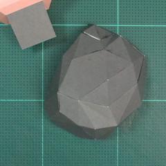 วิธีทำของเล่นโมเดลกระดาษซุปเปอร์แมน (Chibi Superman  Papercraft Model) 014
