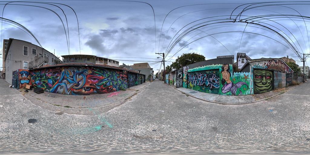 Cypress Street Alley - San Francisco