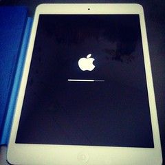 A new baby in town! #iPad #mini #apple #mac #applefanboy #retina.
