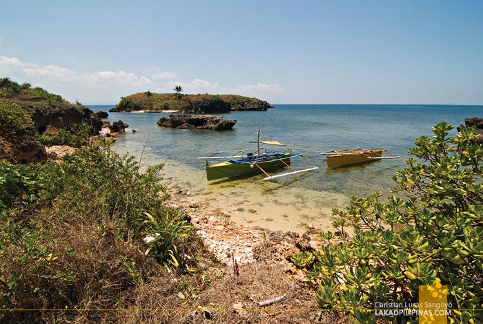 One of the Coves at Dasol's Balas Nagtaros Island