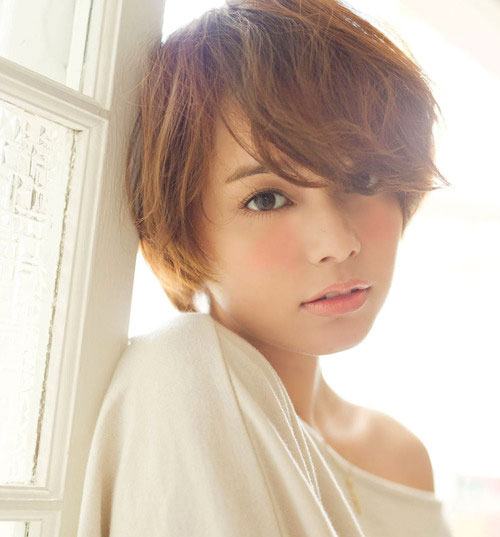 Các kiểu tóc ngắn đẹp! Tóc ngắn ép, uốn xoăn Hàn Quốc 6