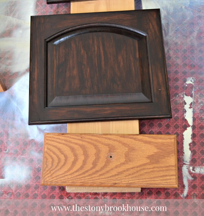3rd coat- General Finishes Gel Stain