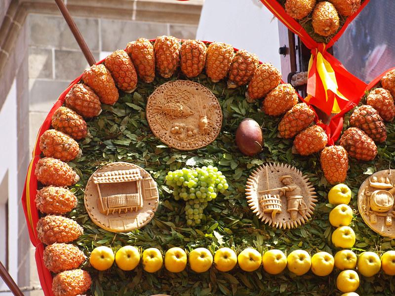 Tarts and fruit, Corazones de Tejina, Tejina, Tenerife