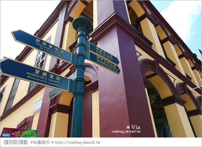 【澳門景點推薦】澳門綠色文創一日遊~普濟禪寺、東望洋燈塔、國父紀念館、望德聖母堂42