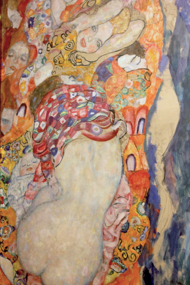 Gustav Klimt The Bride Belvedere Castle Vienna