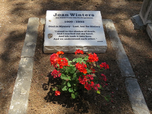 Headstone of Joan Winters