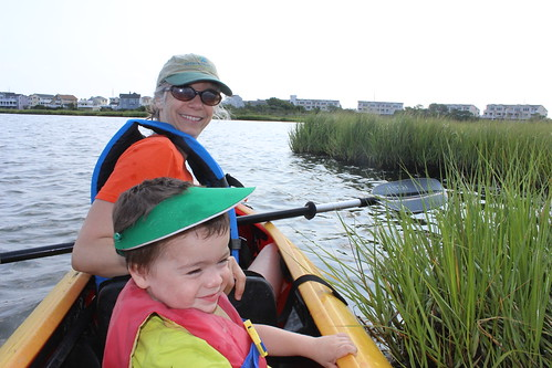 Bethany Beach - Coastal Kayak - Sagan and Vicky
