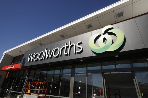 Woolworths executive Julie Coates has quit but will remain on the Masters board