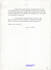 099.Feljegyzés a magyar kormány részvételéről Zita királyné temetésén