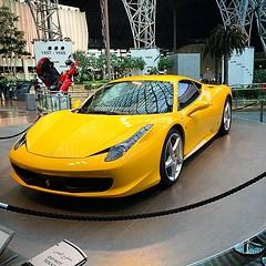 automobile(1.0), automotive exterior(1.0), wheel(1.0), vehicle(1.0), ferrari 458(1.0), performance car(1.0), automotive design(1.0), land vehicle(1.0), luxury vehicle(1.0), coupã©(1.0), sports car(1.0),