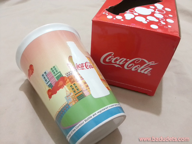 One of 5 Coca-Cola Collectible Ceramic Mugs