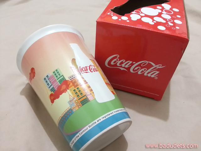 One of 5 Coca-Cola Collectible Ceramic Mugs