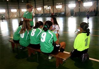 Santa Marta 8-4 Extremadura. Partido amistoso de fútbol sala.