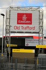 Emirates Old Trafford Cricket Ground Sign