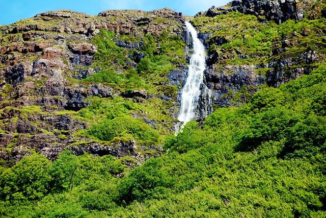 Waterfall, West Coast of Mull, Scotland