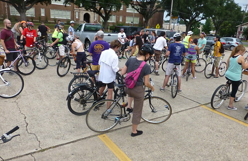 Critical Manners August ride, Shreveport