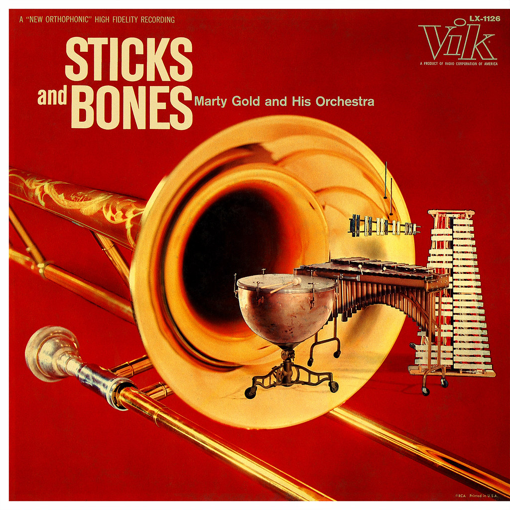 Marty Gold - Sticks and Bones