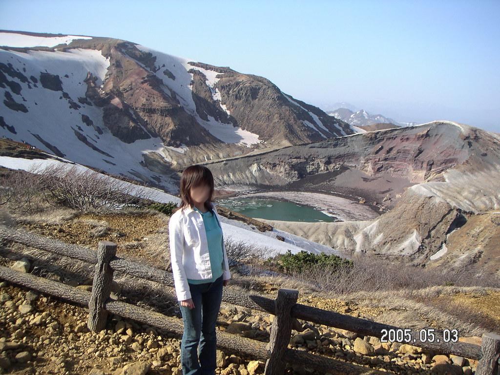 蔵王のお釜20050503 (18)
