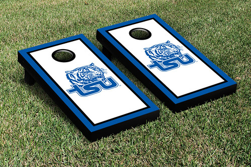 Tennessee State TSU Tigers Cornhole Game Set Border Version
