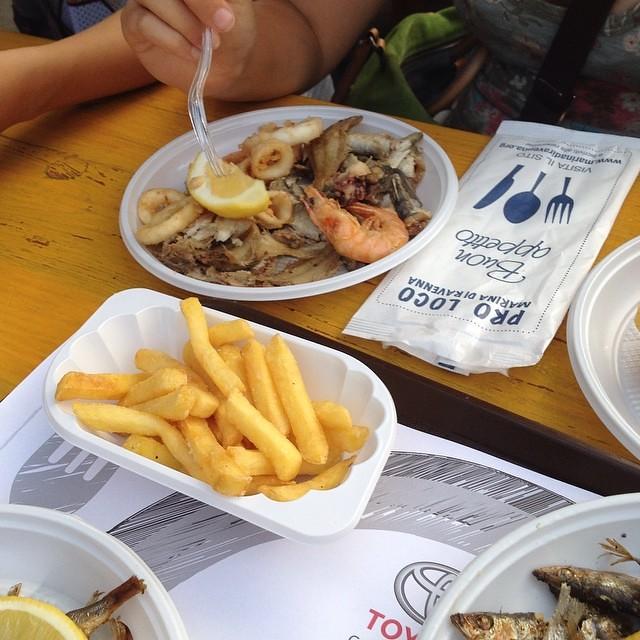 Fritto!!! #food #giriingiro #viaggioinromagna #ilmarecheamo #cibo