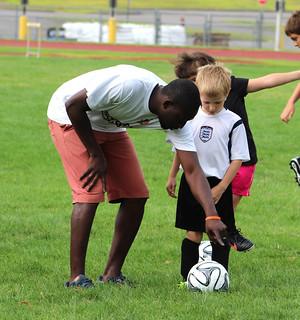 Ray Reid Soccer School 2014