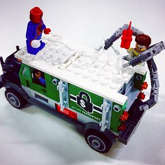 Spidey to the rescue! #lego #marvel #superheroes
