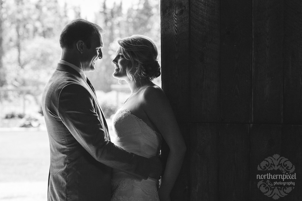 Prince George BC Wedding at Huble Homestead - Northern BC Wedding Photographer