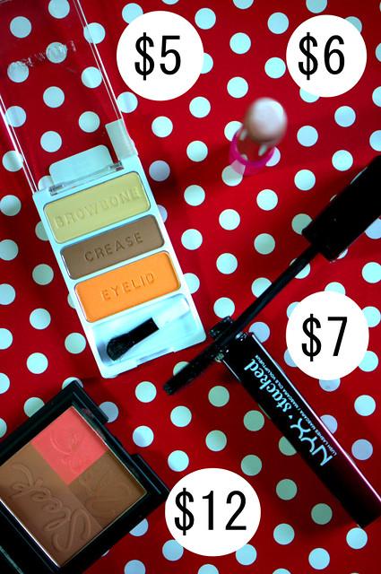 Makeup prices