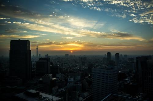 japan sunrise tokyo pentax chiyoda pentaxk5 imgp0565edit