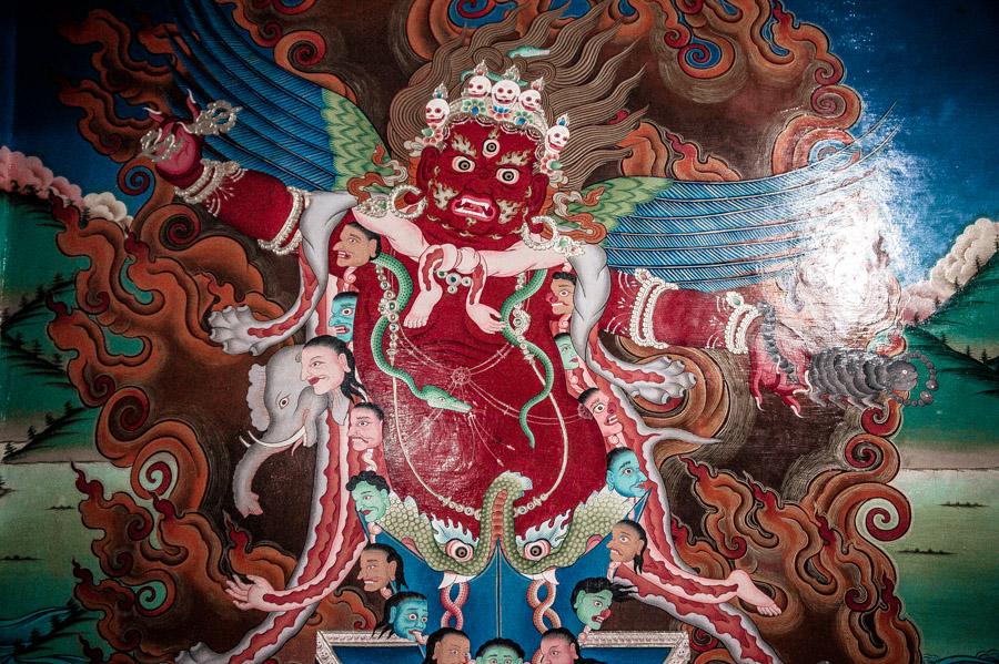 Гуру Драгпур. Стакна Гомпа (монастырь Стакна) © Kartzon Dream - авторские путешествия, авторские туры в Ладакх, тревел фото, тревел видео, фототуры